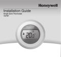 Y87RF Installation Guide - Honeywell