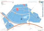 Le plan du parc des Hauts-Sarts et la liste des entreprises