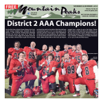 District 2 AAA Champions! - Mountain Peaks!