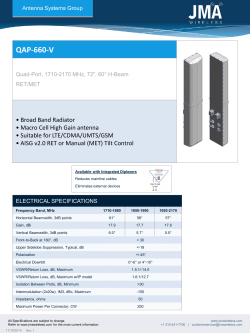 QAP-660-V - JMA Wireless