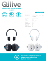 Bluetooth Headphone - Qilive