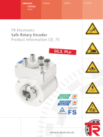 Safe rotary encoder Product information CD_75 - TR-Electronic GmbH
