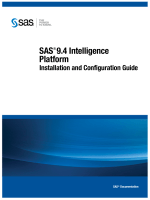SAS 9.4 Intelligence Platform: Installation and Configuration Guide