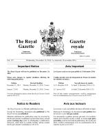 19 novembre 2014 - Gouvernement du Nouveau-Brunswick