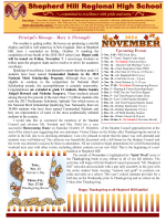 November 2014 Newsletter - Dudley-Charlton Regional School District