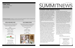 Souderton Mennonite Homes - Summit News - Living Branches